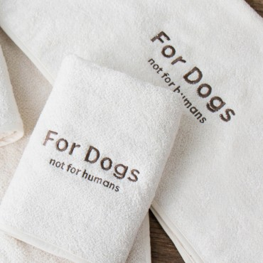 "Serviette ""For Dogs"""