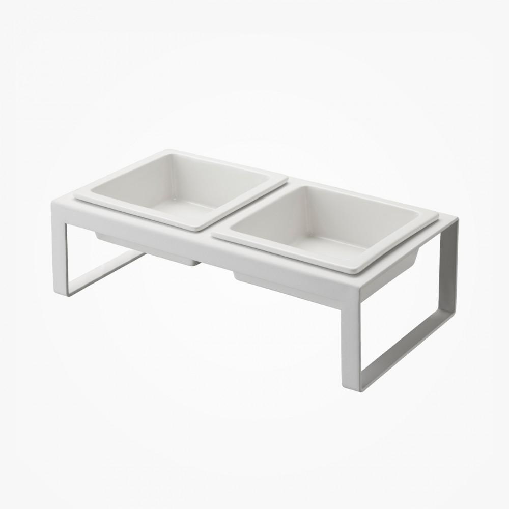 Modern Pet Bowl - Blanc