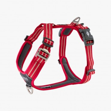 Harnais Dog Copenhagen Comfort Walk Air Rouge - Nouvelle Collection